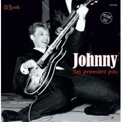 JOHNNY HALLYDAY - Ses premiers pas - 45t Picture Disc