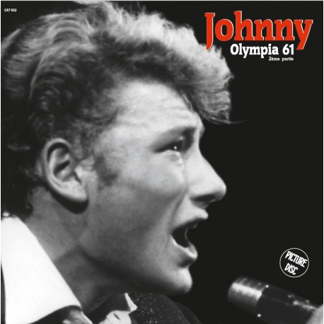 JOHNNY HALLYDAY Olympia 1961 2ème partie - 33t Picture Disc