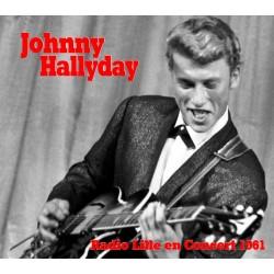 JOHNNY HALLYDAY En concert à Lille 1961 - CD DIGIPACK