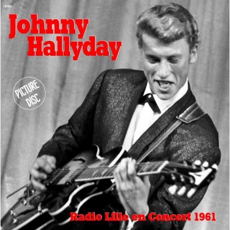 JOHNNY HALLYDAY Radio Lille en Concert 1961 - PACK 33t + CD