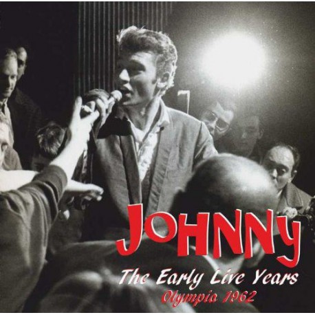 JOHNNY HALLYDAY - EARLY LIVE YEARS VOL 1