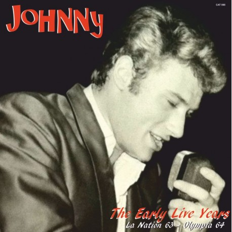 JOHNNY HALLYDAY - EARLY LIVE YEARS VOL 4