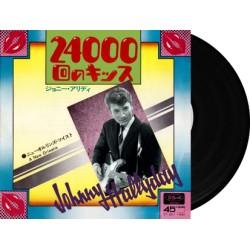 JOHNNY HALLYDAY - 24000 BAISERS / A NEW ORLEANS - VINYLE NOIR