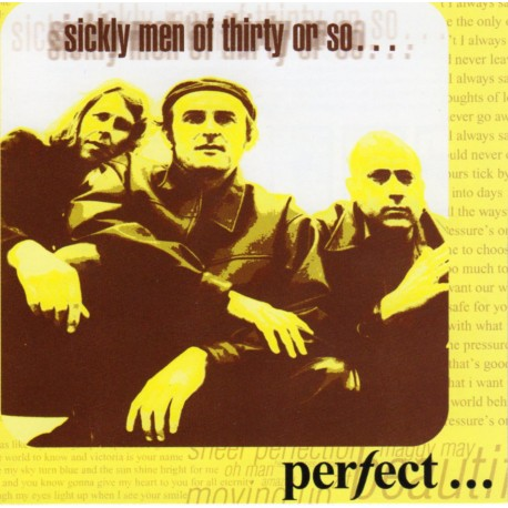 """PERFECT """"Sickly men of 30 or so..."""""""