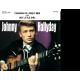 JOHNNY HALLYDAY - CARAVAN OF LONELY MEN / HEY LITTLE GIRL - VINYLE NOIR