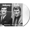 JOHNNY et EDDY - MAYBELLENE / MISS MOLLY - VINYLE BLANC OPAQUE